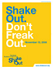 ShakeOut. Don't Freak Out.
