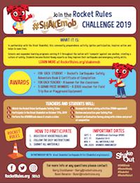 ShakeMob Challenge flyer