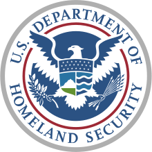 USD of Homeland Security logo
