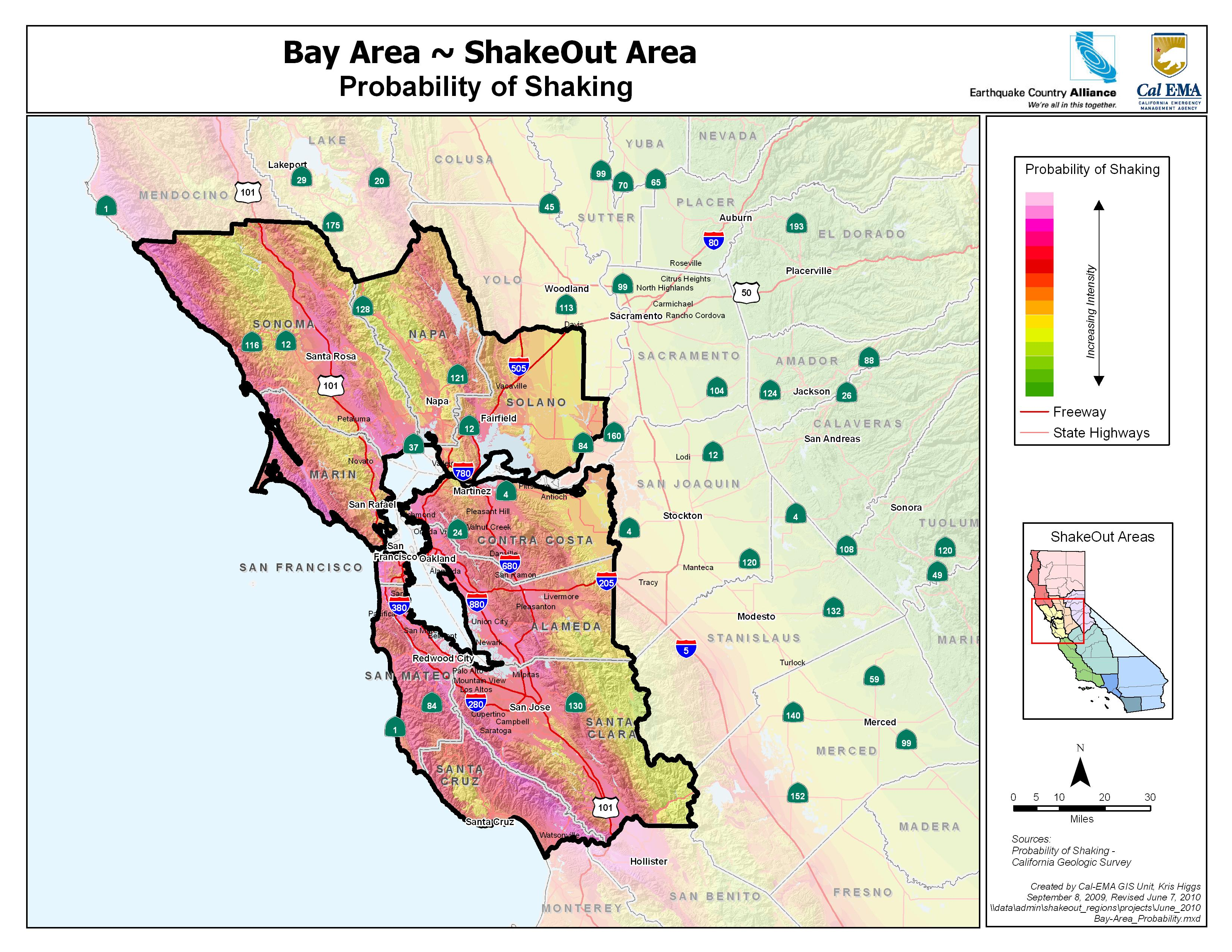 The Great California Shakeout Bay Area