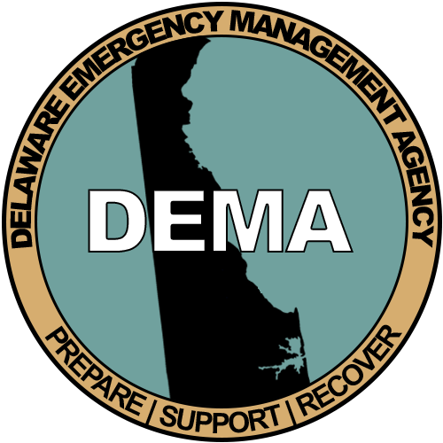 Delaware Emergency Management Division Logo