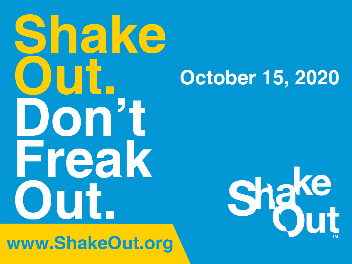 ShakeOut: Don't Freak Out (Facebook)