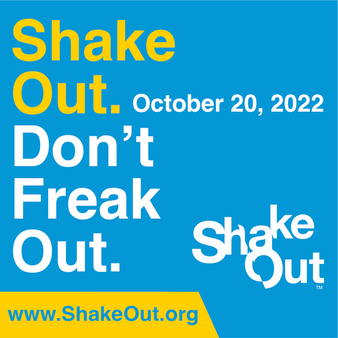 ShakeOut: Don't Freak (Instagram)