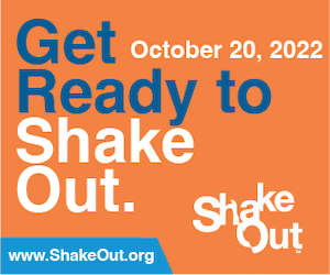 Web Banner: Get Ready to ShakeOut