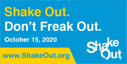 ShakeOut: Don't Freak (Twitter)