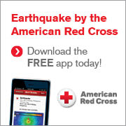 Red Cross Earthquake App banner