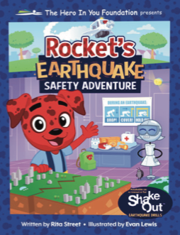 Rockets Earthquake Safety Adventure book cover