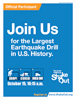 Poster Image: Join Us for the Largest Earthquake Drill in U.S. History