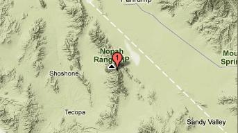 Google Earthquake Location Map