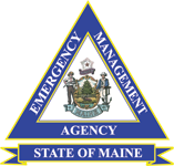 Maine Emergency Management Division Logo