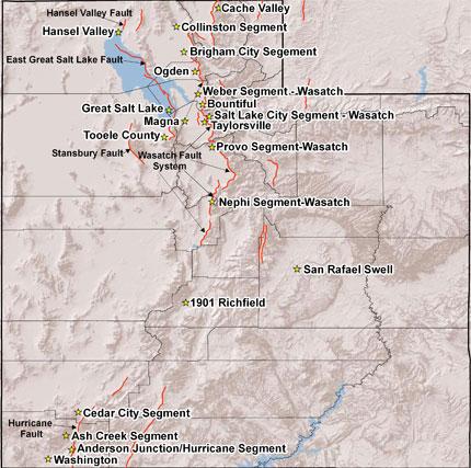 The Great Utah Shakeout Earthquake Scenarios